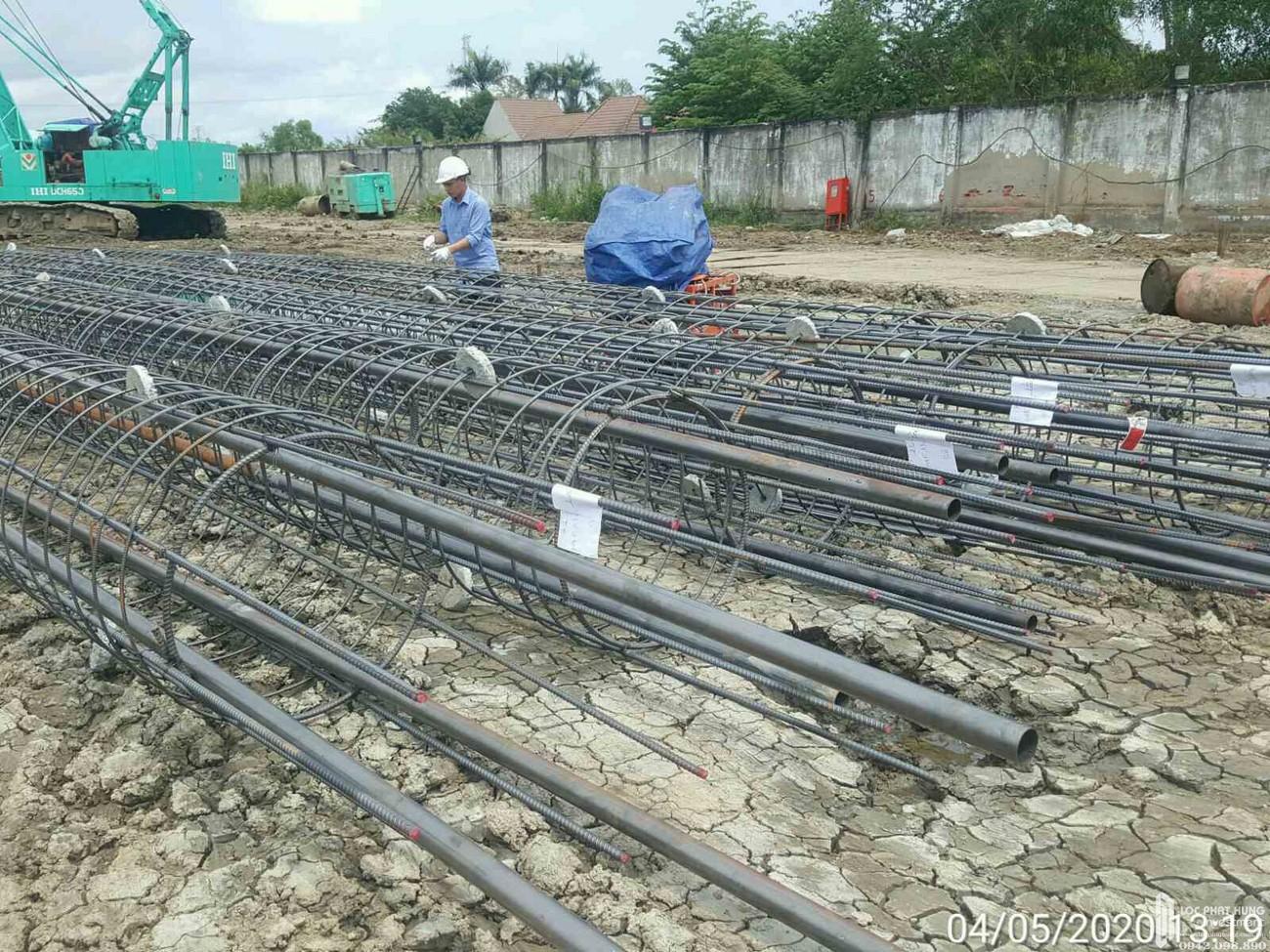 Tiến độ dự án căn hộ chung cư La Partenza Nhà Bè 05/2020