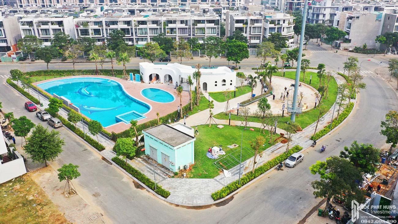 Tiến độ dự án căn hộ chung cư Khu Đô Thị Vạn Phúc City 29/05/2020 Quận Thủ Đức Đường Quốc lộ 13 chủ đầu tư Vạn Phúc Group