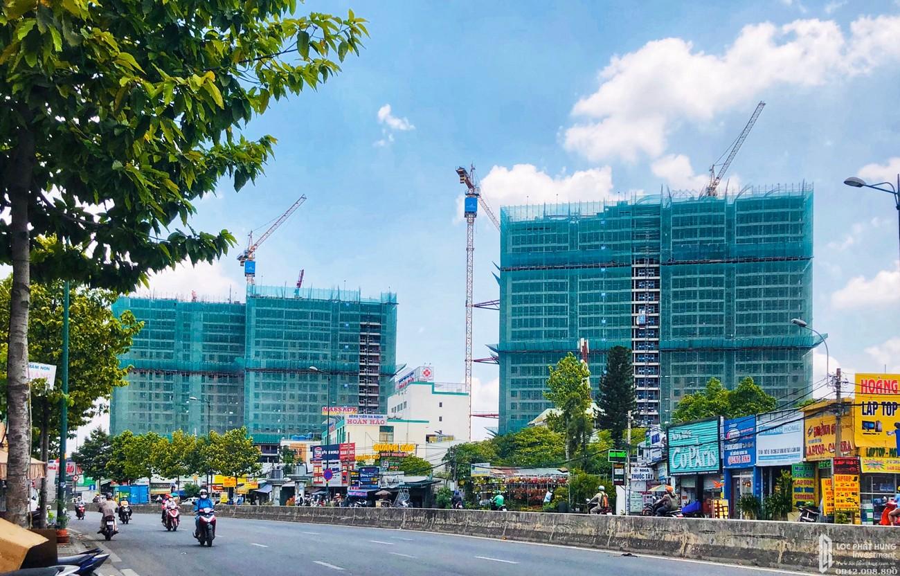 Tiến độ Opal Boulevard Dĩ An 16/05/2020 Đường Phạm Văn Đồng chủ đầu tư Đất xanh Group