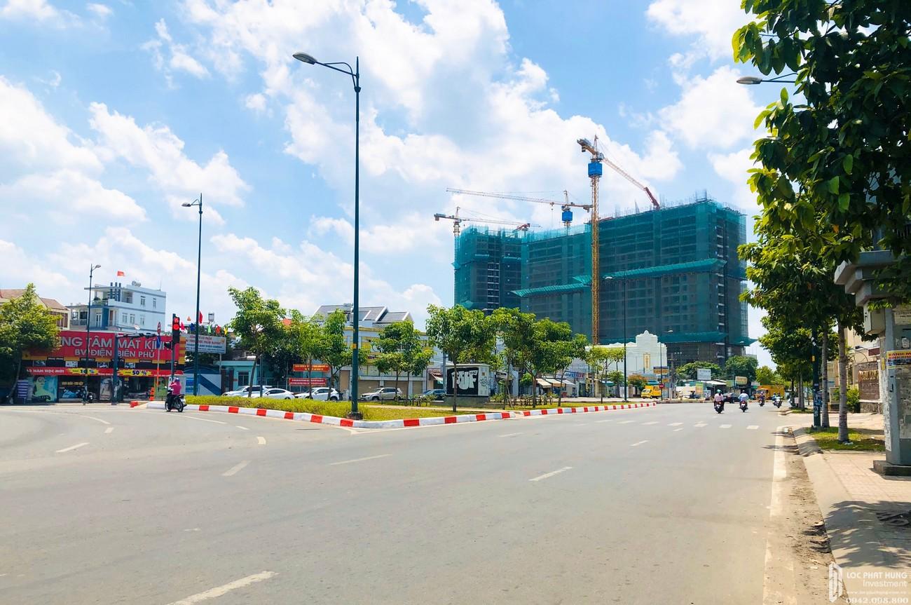 Tiến độ dự án căn hộ chung cư Opal Boulevard Dĩ An 16/05/2020 Đường Phạm Văn Đồng chủ đầu tư Đất xanh Group
