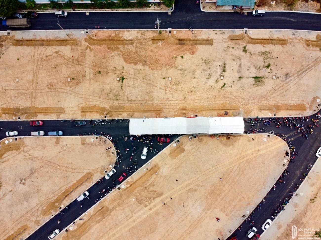 Tiến độ dự án đất nền nhà phố Bình Dương Avenue City 09/05/2020 Bến Cát Đường Quốc lộ 13 chủ đầu tư Phú Cường