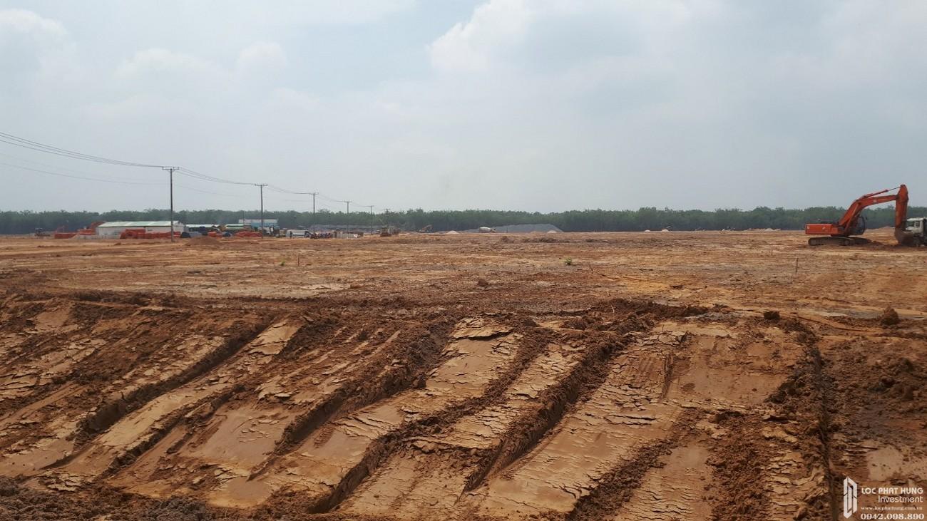 Tiến độ dự án nhà phố đất nền Gem Sky World Đất Xanh Long Thành 23/09/2020