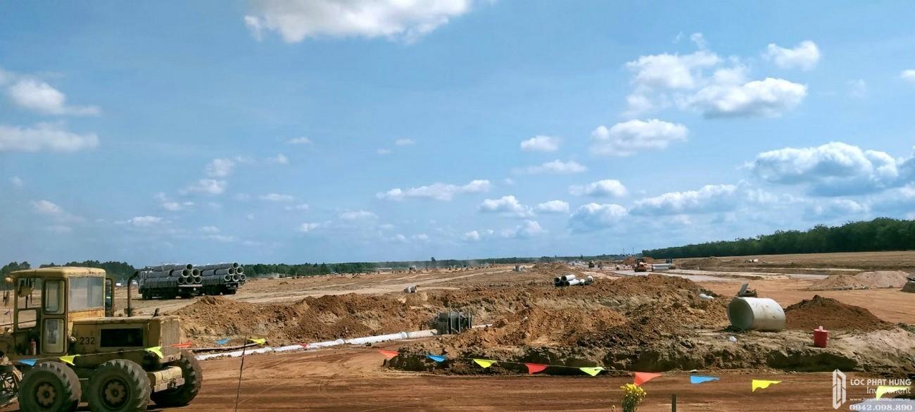 Tiến độ Gem Sky World tháng 08/2020 | dự án đất nền nhà phố Đồng Nai
