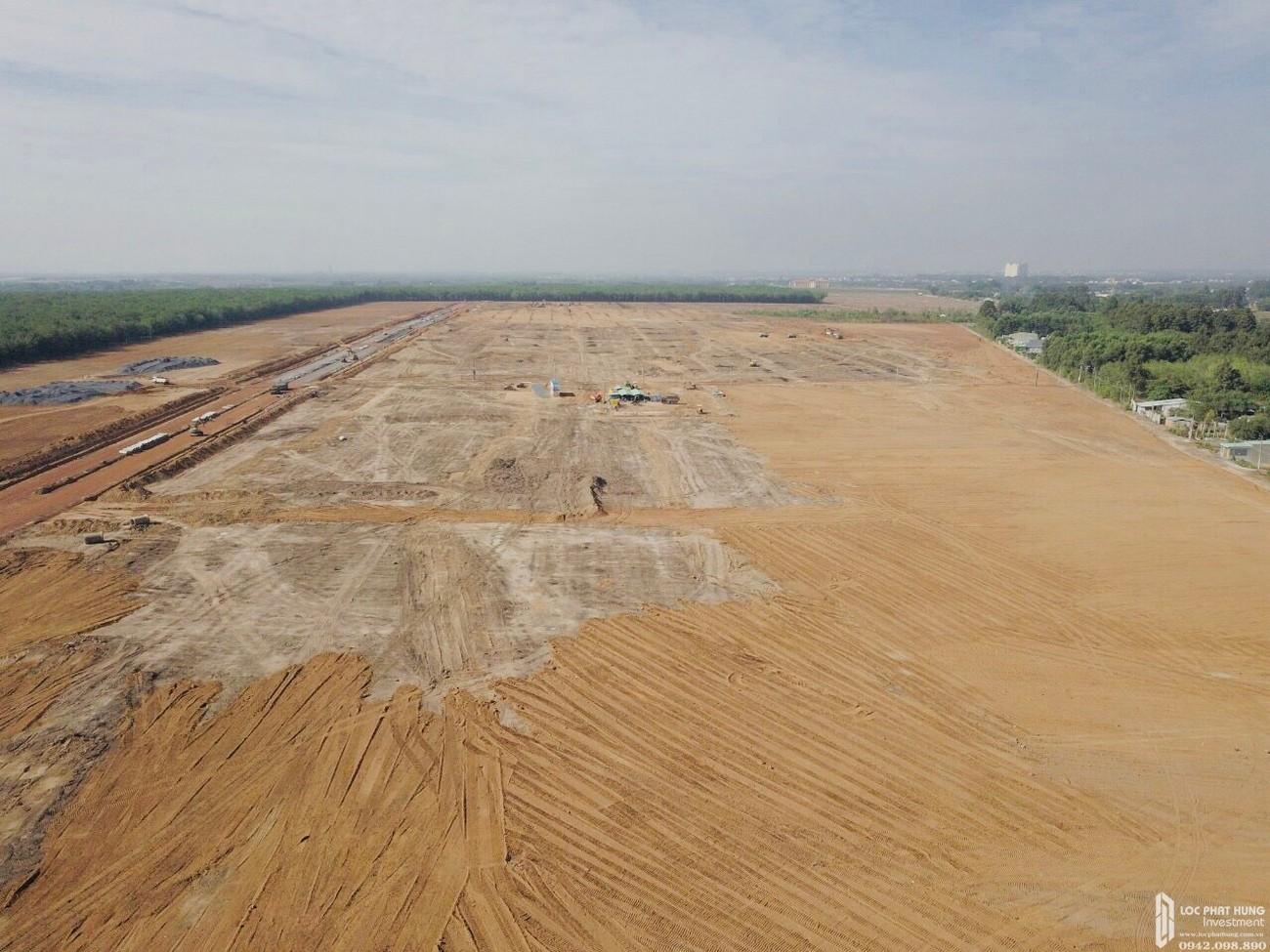Tiến độ dự án nhà phố, đất nền Gem Sky World Long Thành Đường Quốc Lộ 51 chủ đầu tư Đất Xanh 18/06/2020