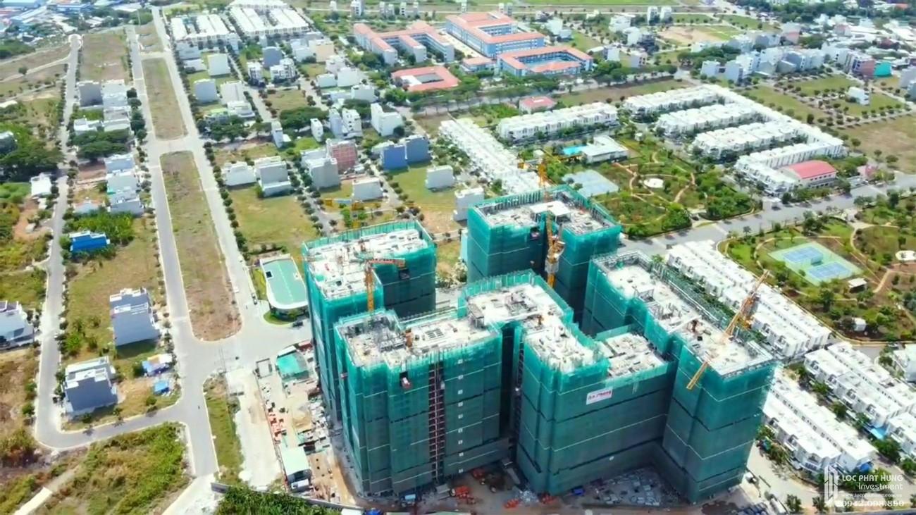 Tiến độ xây dựng dự án căn hộ Lovera Vista ngày 21/05/2020