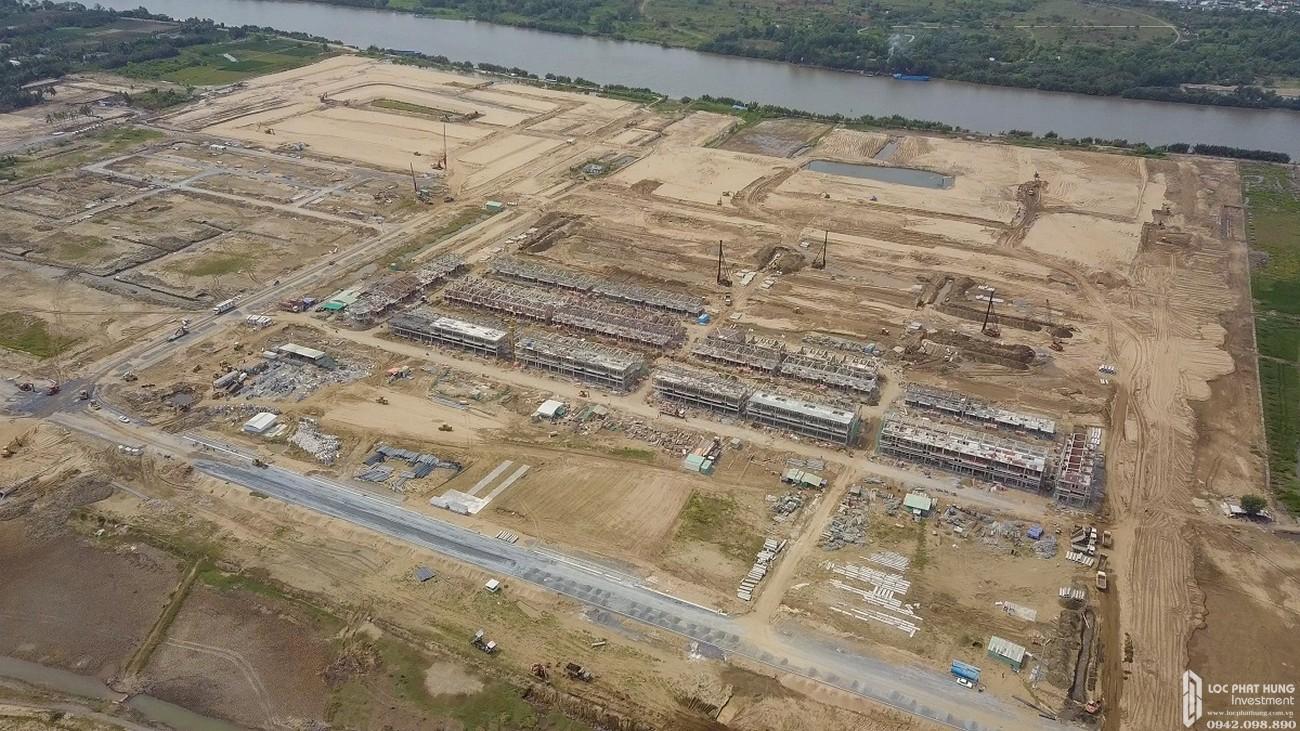 Tiến độ Waterpoint Long An 05/2020 Đường Tỉnh lộ 830 chủ đầu tư Nam Long
