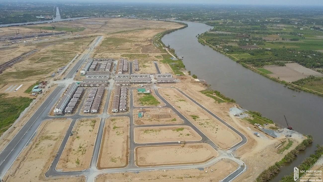 Tiến độ dự án đất nên nhà phố Waterpoint Long An 05/2020 Đường Tỉnh lộ 830 chủ đầu tư Nam Long