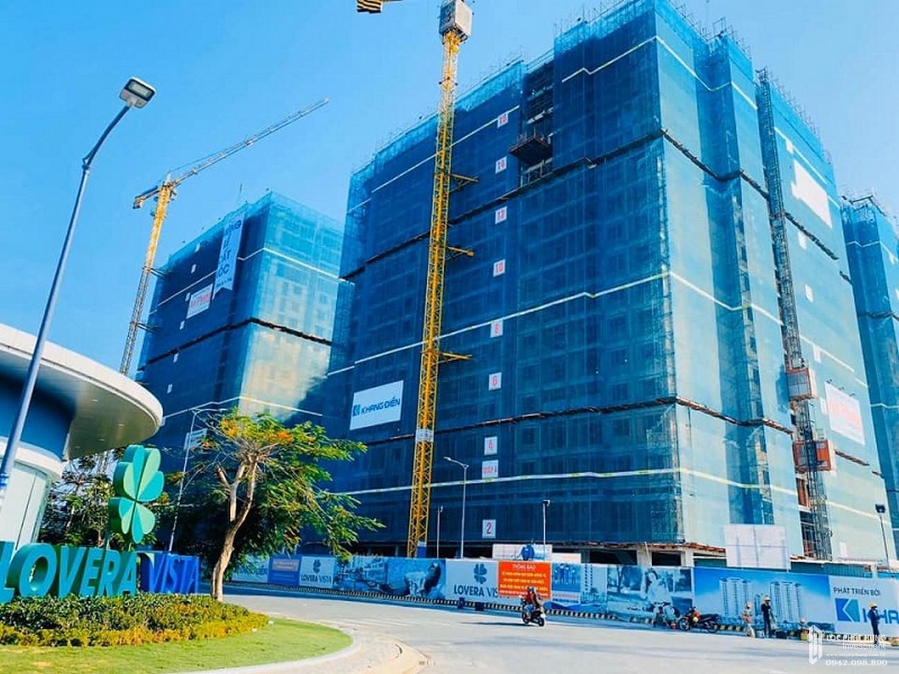 Tiến độ xây dựng dự án Lovera Vista tháng 04/2020- Nhận ký gửi mua bán + cho thuê