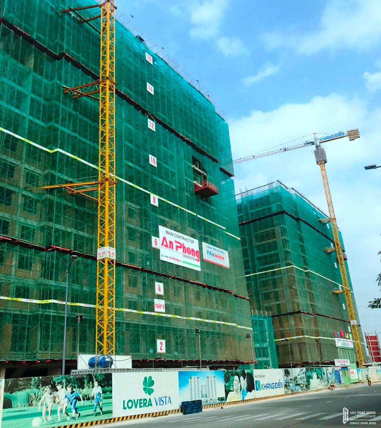Tiến độ xây dựng dự án Lovera Vista tháng 03/2020 – Nhận ký gửi mua bán + cho thuê