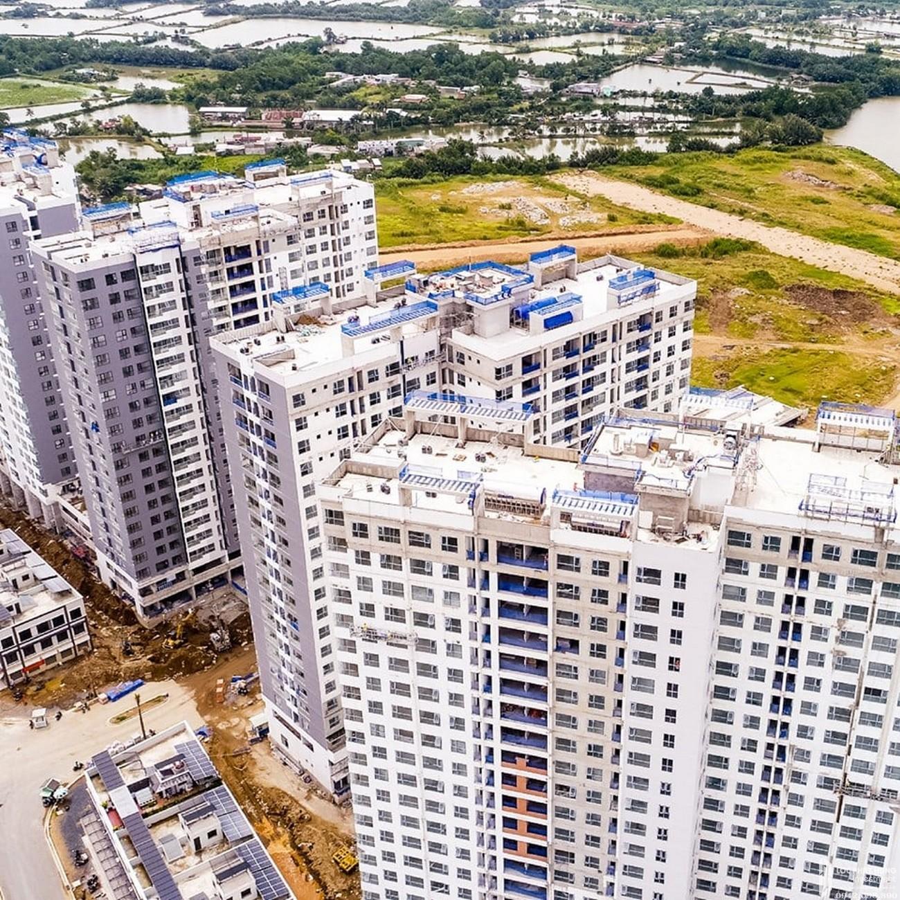 Tiến độ xây dựng dự án Mizuki Park Bình Chánh tháng 11/2019