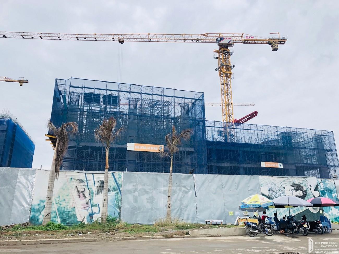 Tiến độ xây dựng dự án căn hộ Q7 Sài Gòn Riverside Complex 05/2020