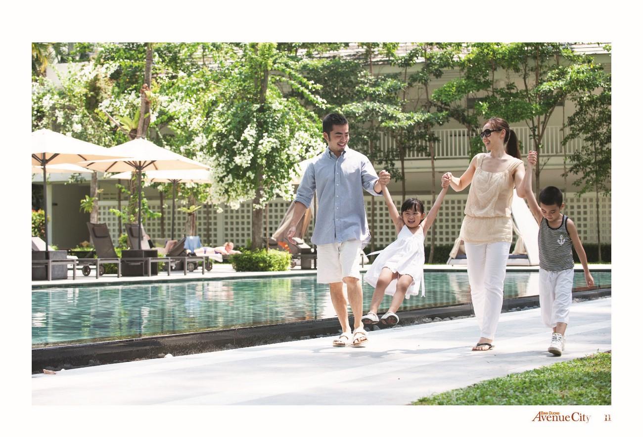 Tiện ích dự án đất nền nhà phố Bình Dương Avenue City Bến Cát Đường Quốc lộ 13 chủ đầu tư Phú Cường