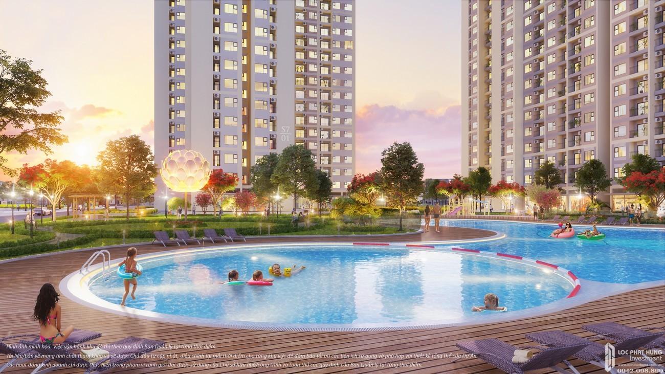 Tiện ích dự án căn hộ chung cư The Origami Quận 9 Đường Nguyễn Xiển chủ đầu tư Vingroup