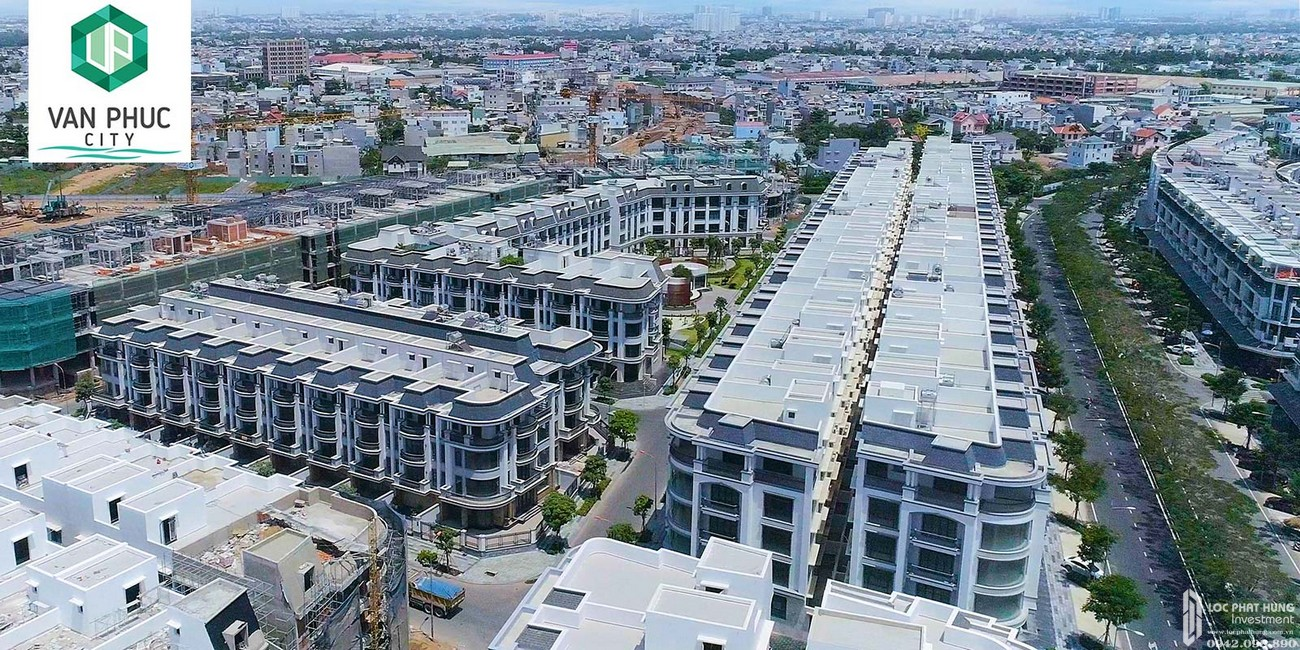 Thực tế dự án căn hộ chung cư Khu Đô Thị Vạn Phúc City Quận Thủ Đức