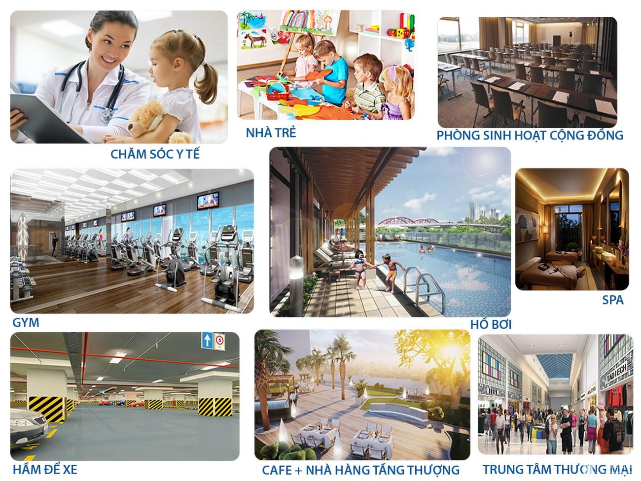 Chuỗi tiện ích dự án đất nền nhà phố biệt thự Icon Central Bình Dương Đường Ngô Chí Quốc chủ đầu tư Hoa Lâm