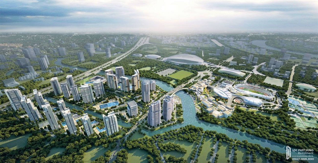 iện ích ngoại khu dự án căn hộ chung cư Precia Quận 2 Đường Nguyễn Thị Định chủ đầu tư Minh Thông