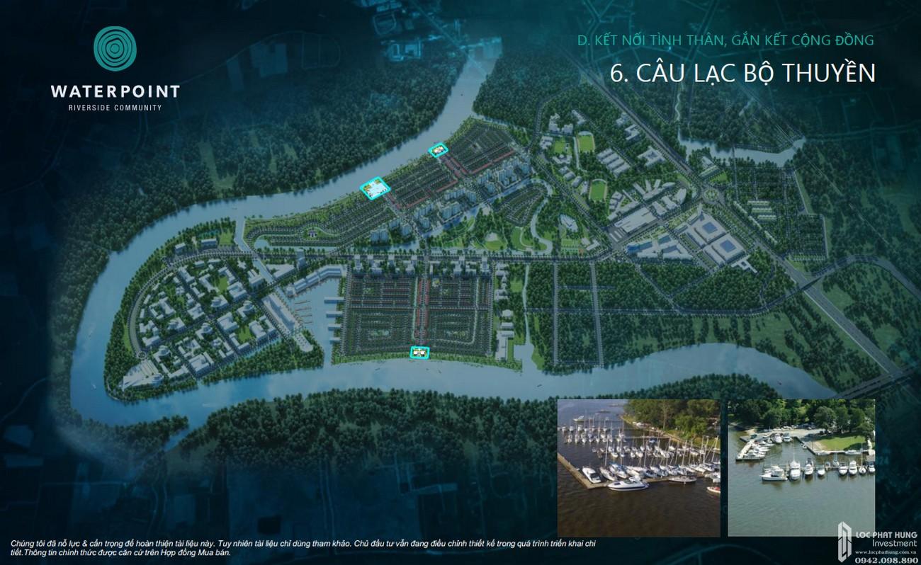 Tiện ích dự án đất nền nhà phố Waterpoint Bến Lức Đường Tỉnh lộ 830 chủ đầu tư Nam Long
