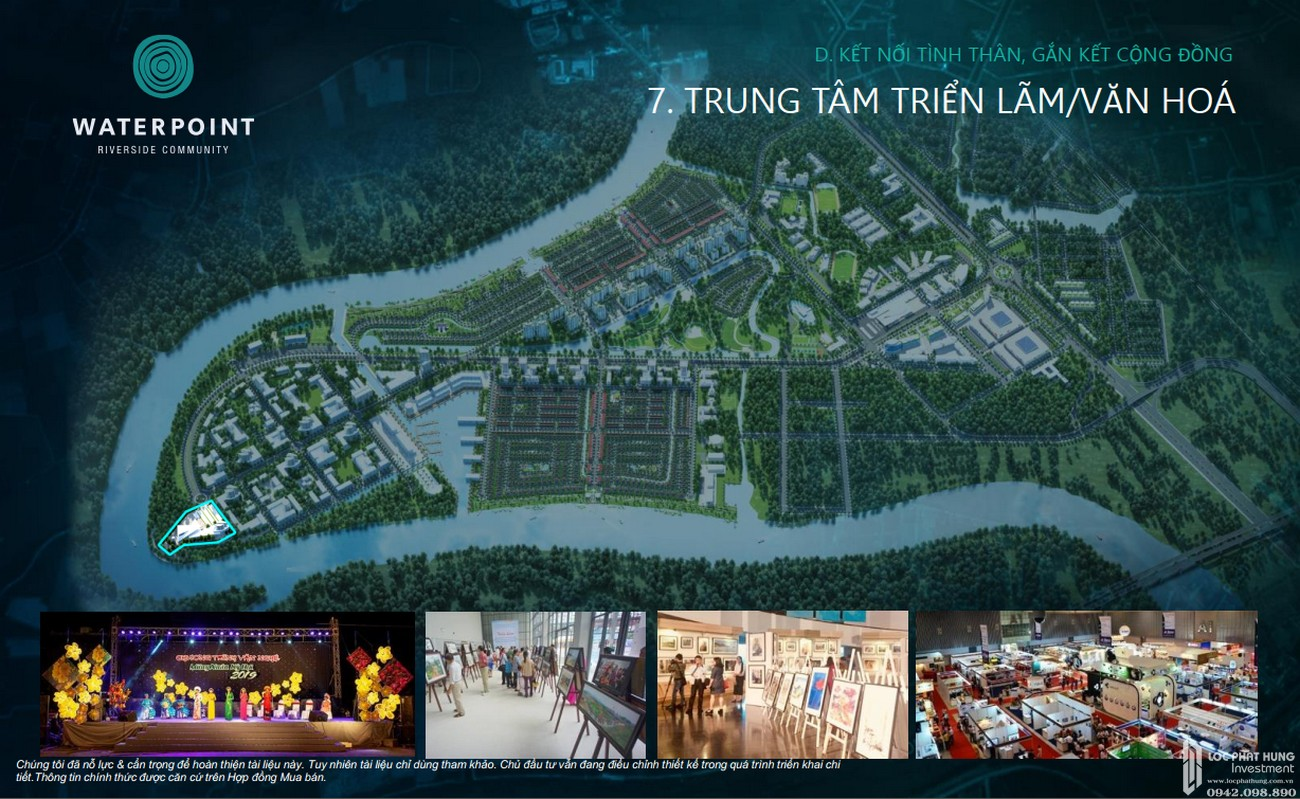 Tiện ích đất nền nhà phố dự án Waterpoint Bến Lức Đường Tỉnh lộ 830 chủ đầu tư Nam Long