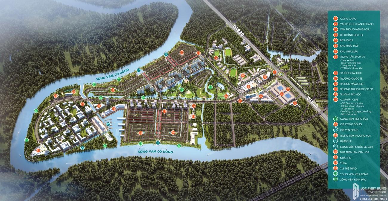 Chuỗi hệ thống tiện ích 5* bậc nhất Việt Nam – Khu đô thị Waterpoint Long An