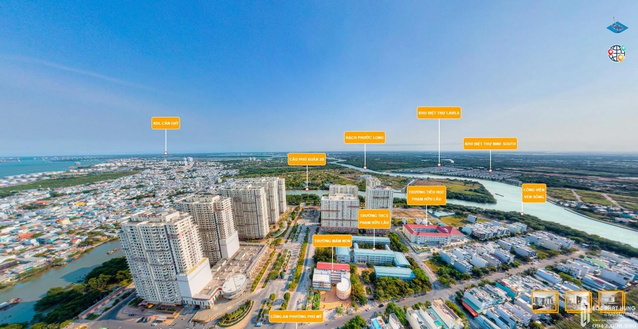 Vị trí dự án Green Star Sky Garden trục đường Nguyễn Lương Bằng