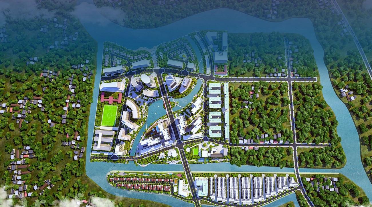 Vị trí phân khu Velora Island dự án Mizuki Park chủ đầu tư Nam Long