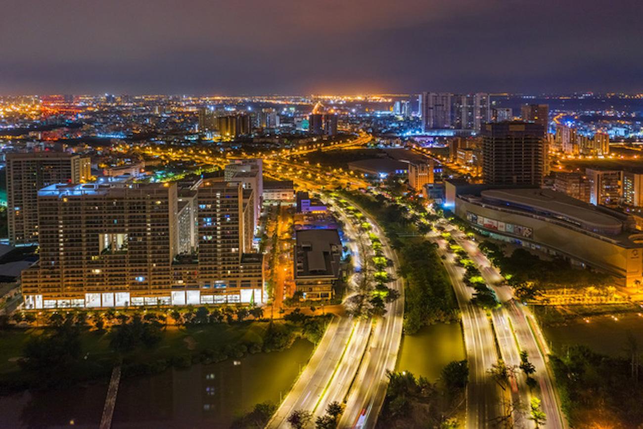Đại lộ Nguyễn Văn Linh kết nối Bình Chánh và Phú Mỹ Hưng