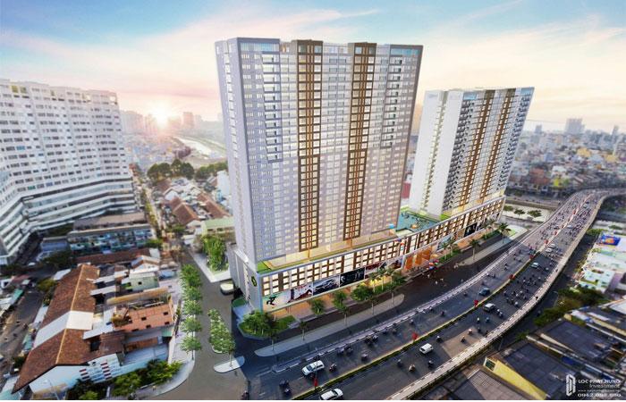 Phối cảnh dự án căn hộ Rivergate Residence Quận 4