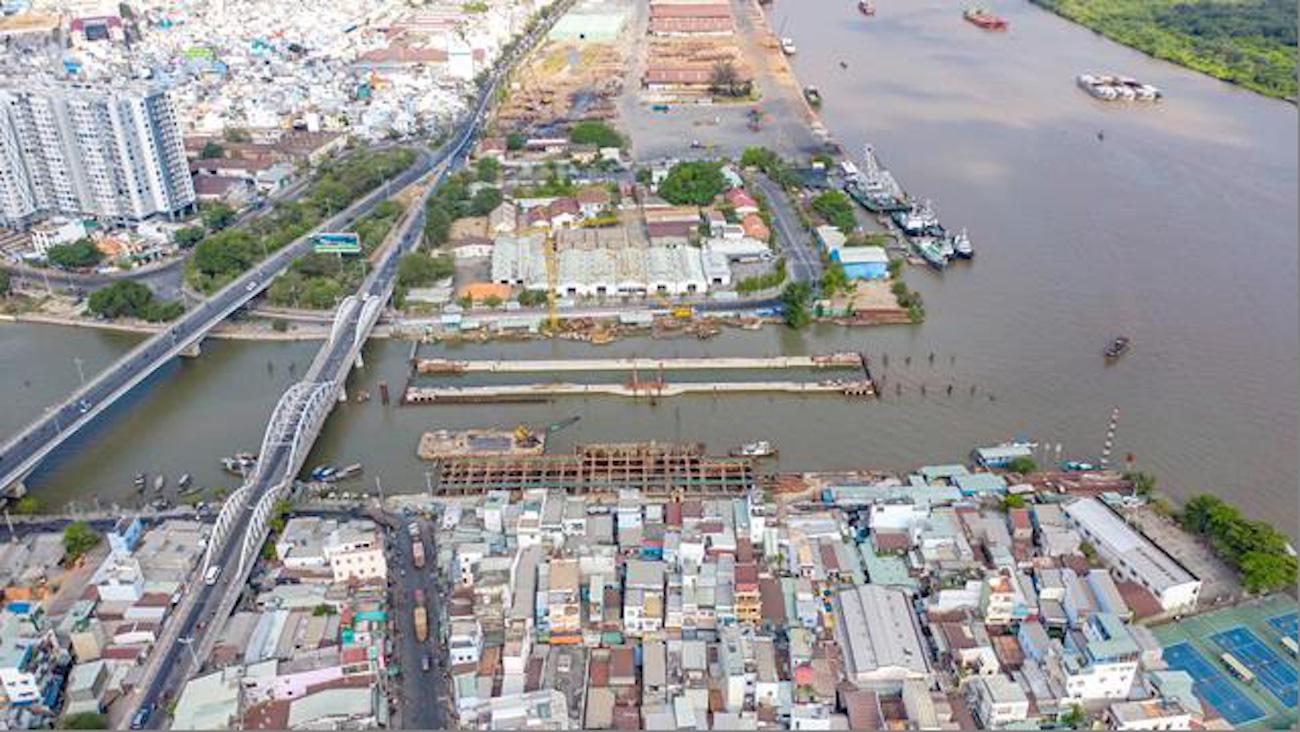 BĐS khu nam thêm tín hiệu vui khi các dự án chống ngập sắp hoàn thành