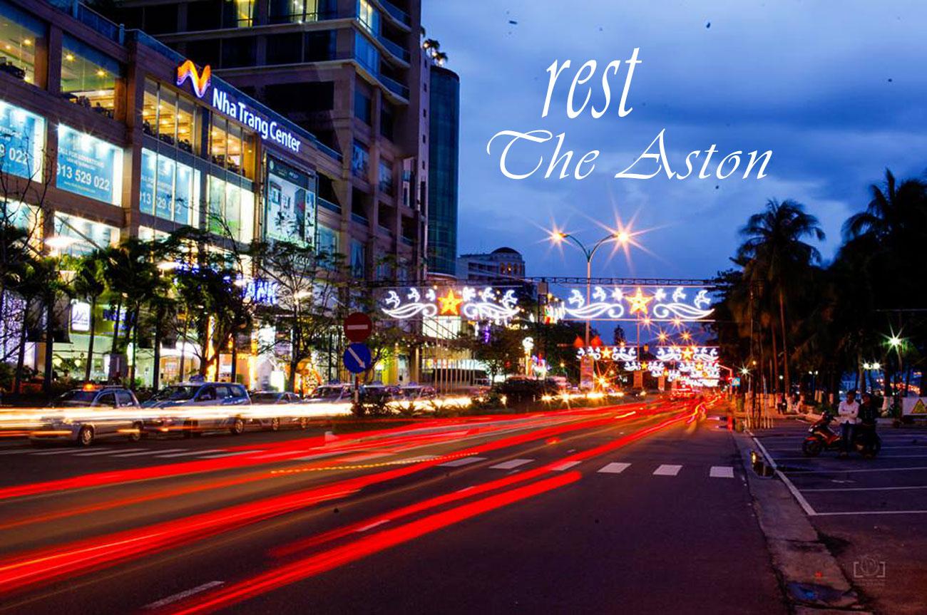 """The Aston Nha Trang trên trục đường """"không ngủ"""" Trần Phú"""