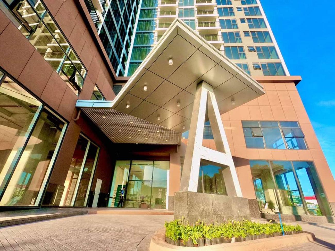Hình thực tế Sảnh A dự án căn hộ chung cư Eco Green Sài Gòn Quận 7 tháng 09/2020
