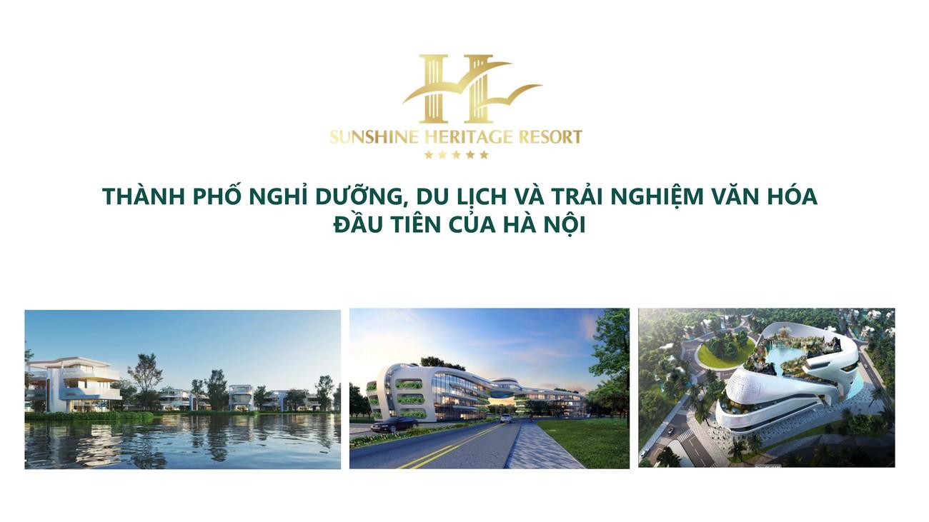 Mua bán cho thuê dự án Resort Sunshine Heritage Hà Nội Phúc Thọ, Xuân Phú chủ đầu tư Sunshine Group
