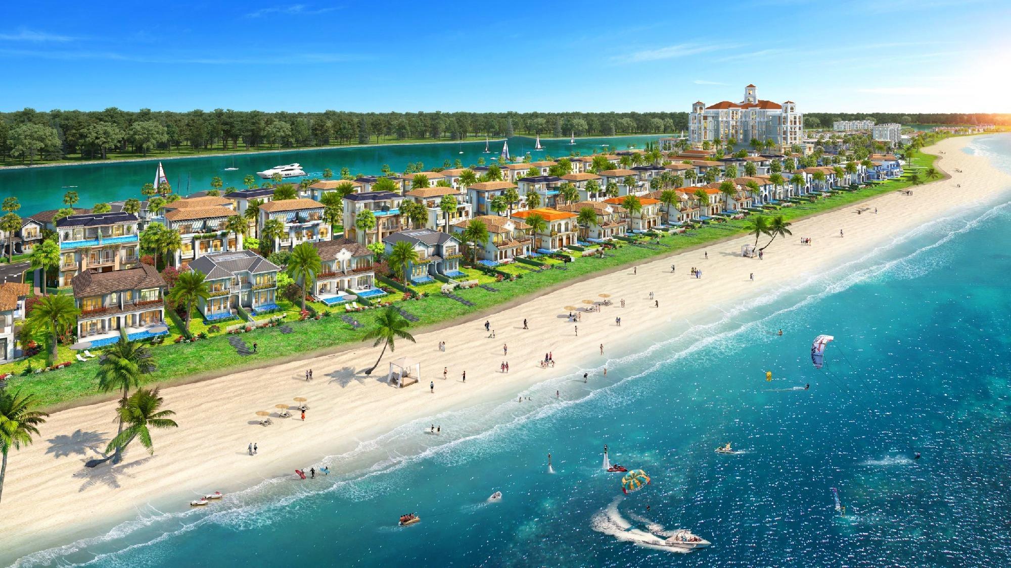 Phối cảnh biệt thự ven biển dự án Habana Island Novaworld Hồ Tràm