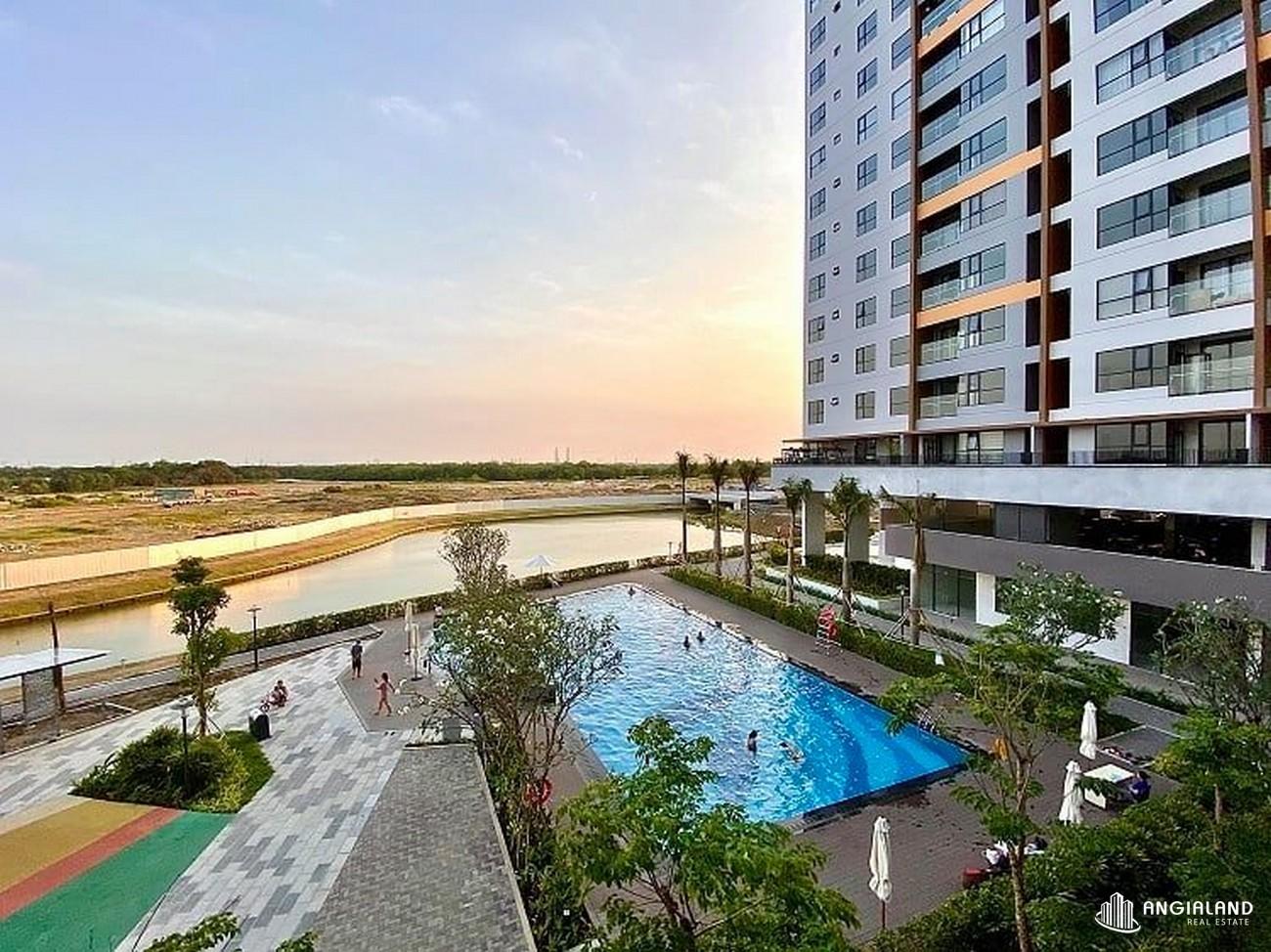 Ảnh thực tế hồ bơi Mizuki Park Bình Chánh Nam Long