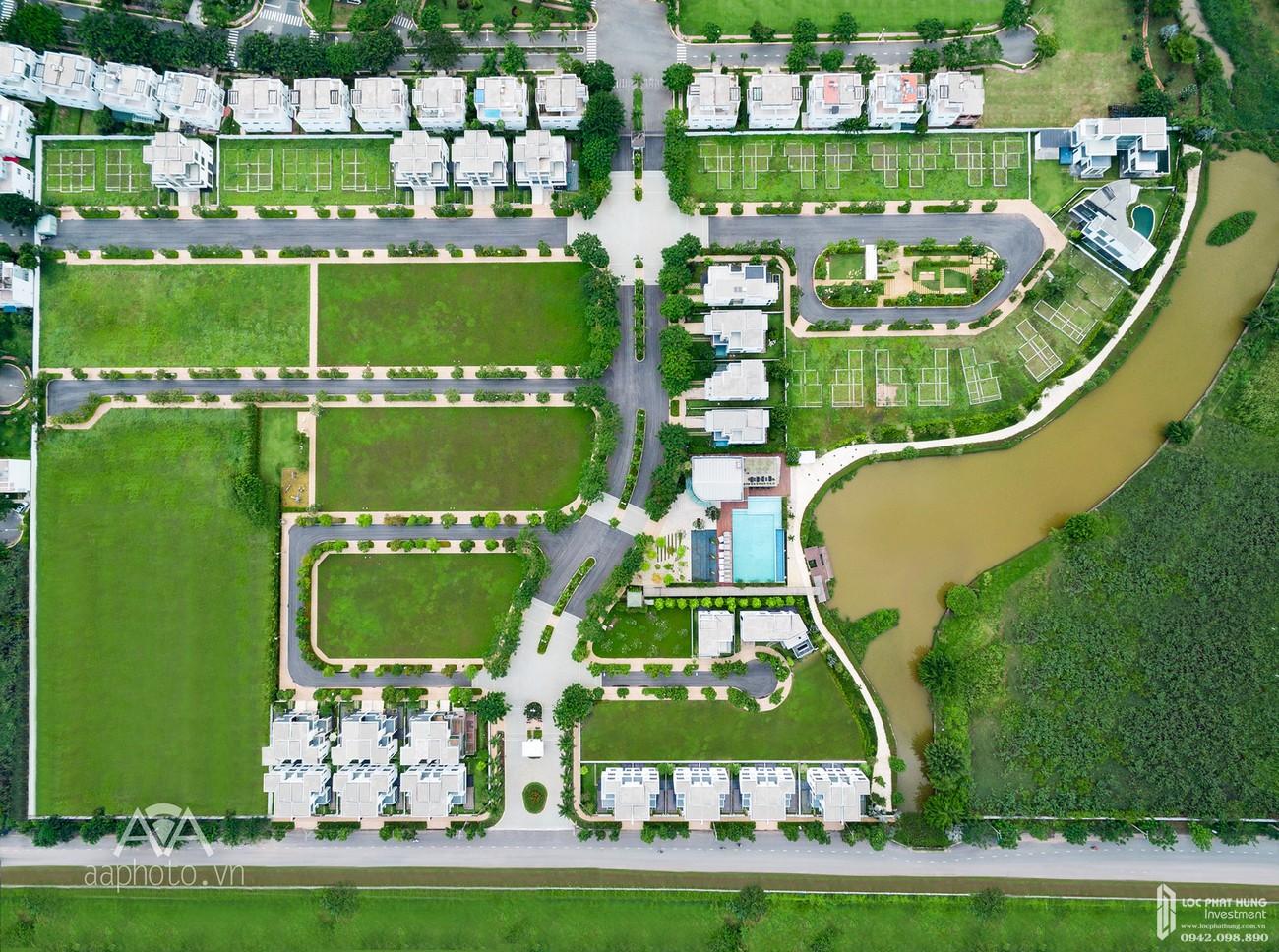 Mặt bằng dự án Biệt thự Lucasta Quận 9 Đường Liên Phường chủ đầu tư Khang Điền