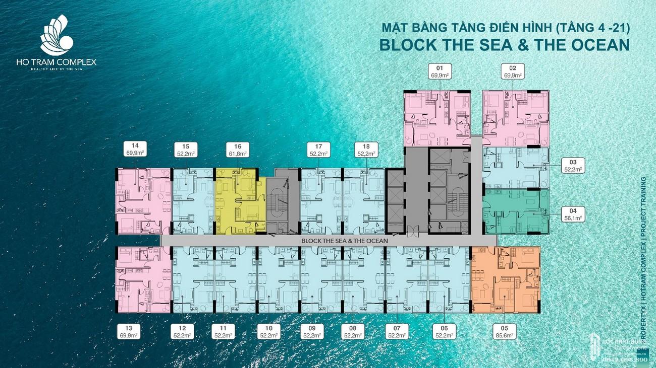 Mặt bằng địa chỉ dự án căn hộ Hồ Tràm Complex Đường ven biển chủ đầu tư Hưng Thịnh Corp