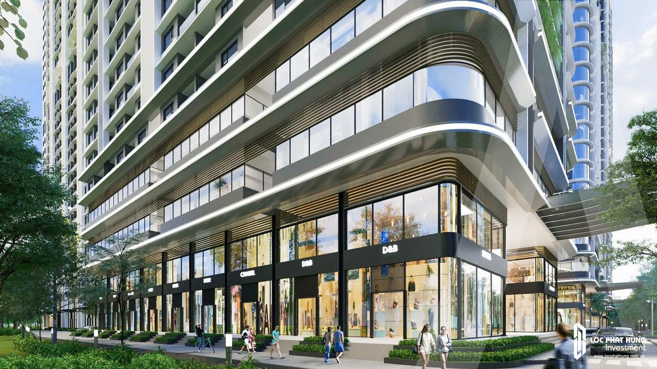 Khối đế dự án căn hộ chung cư Astral City Bình Dương với nhiều trung tâm thương mại và nhiều tiện ích đỉnh cao