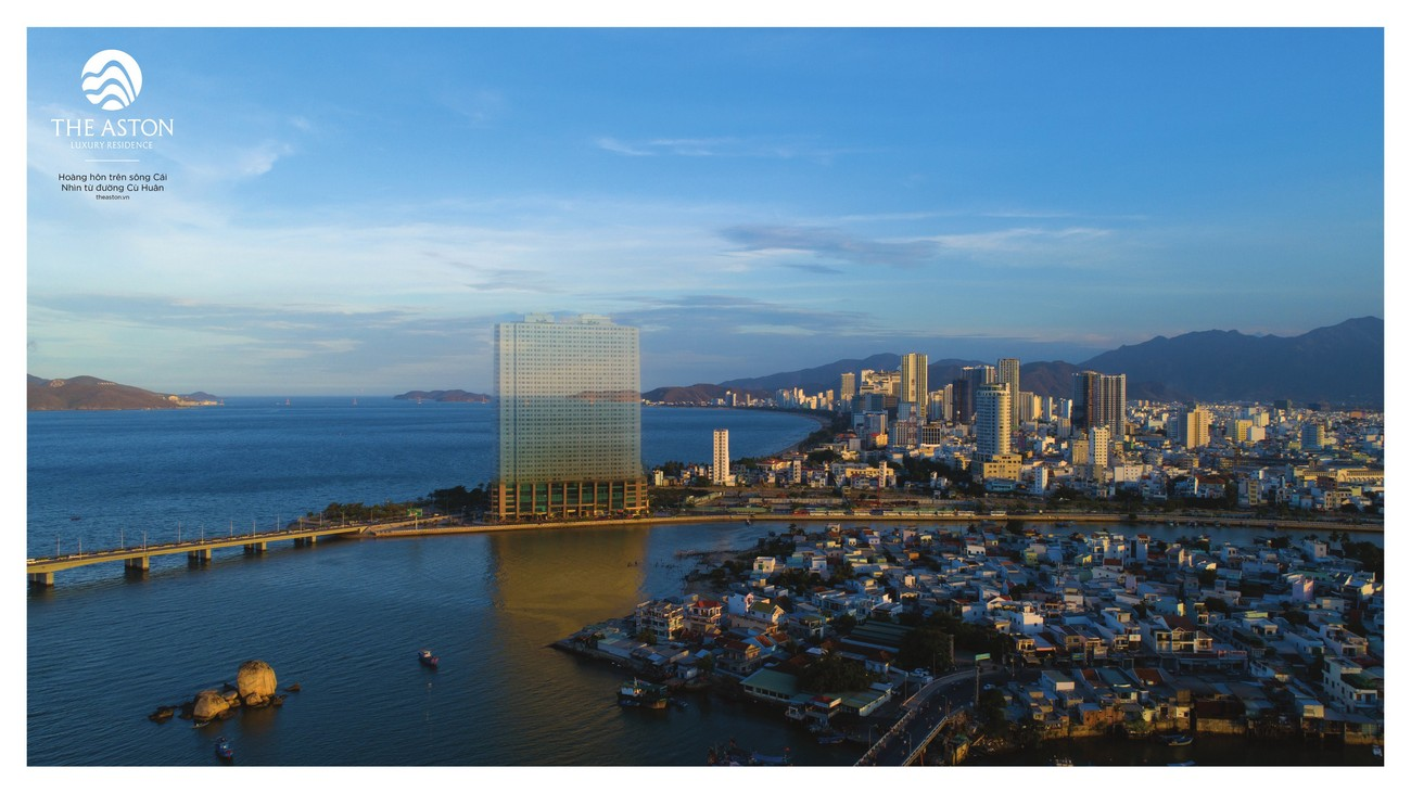 Toàn cảnh vị trí thực tế dự án The Aston Luxury Residence đường Trần Phú TP Nha Trang