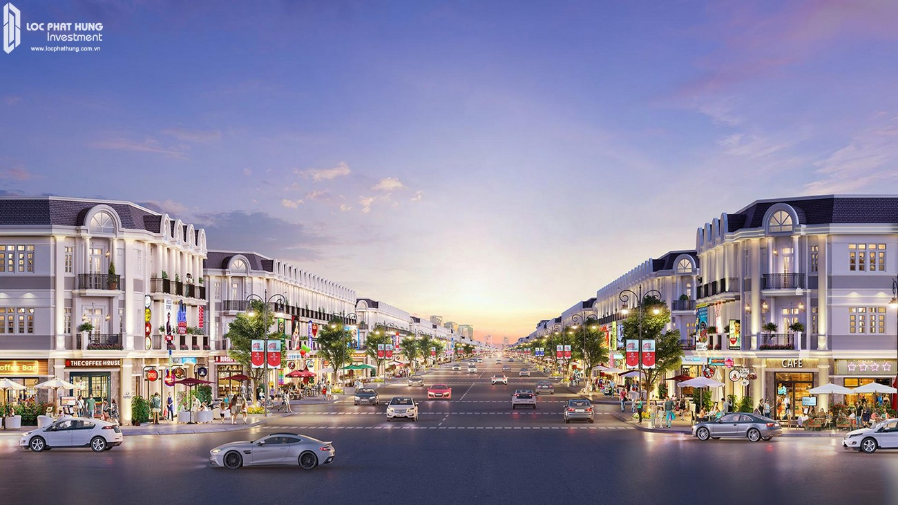 Các mẫu thiết kế dự án đất nền phà phố Century City huyện Long Thành Tỉnh Đồng Nai