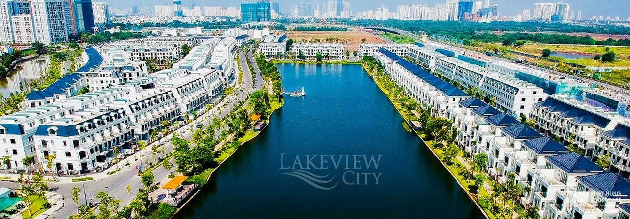 Mua bán cho thuê dự án nhà phố Lakeview City Quận 2 Đường Cao tốc Long Thành - Dầu Giây chủ đầu tư NovaLand