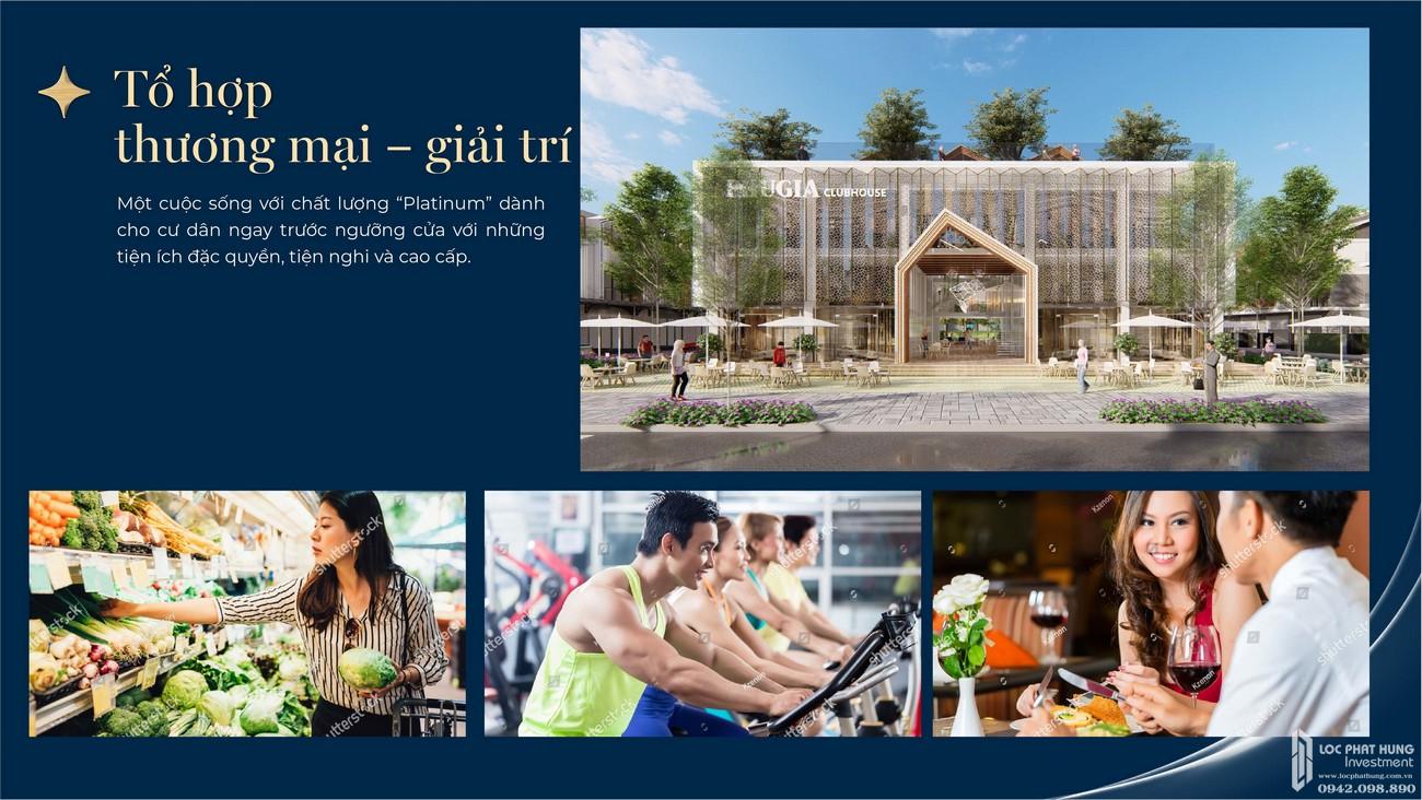 Tiện ích dự án nhà phố Phú Gia Residences Nhơn Trạch Đồng Nai chủ đầu tư Phú Long