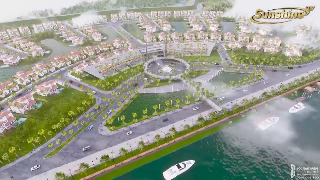 Phối cảnh tổng thể dự án căn hộ Sunshine Heritage Resort Hà Nội