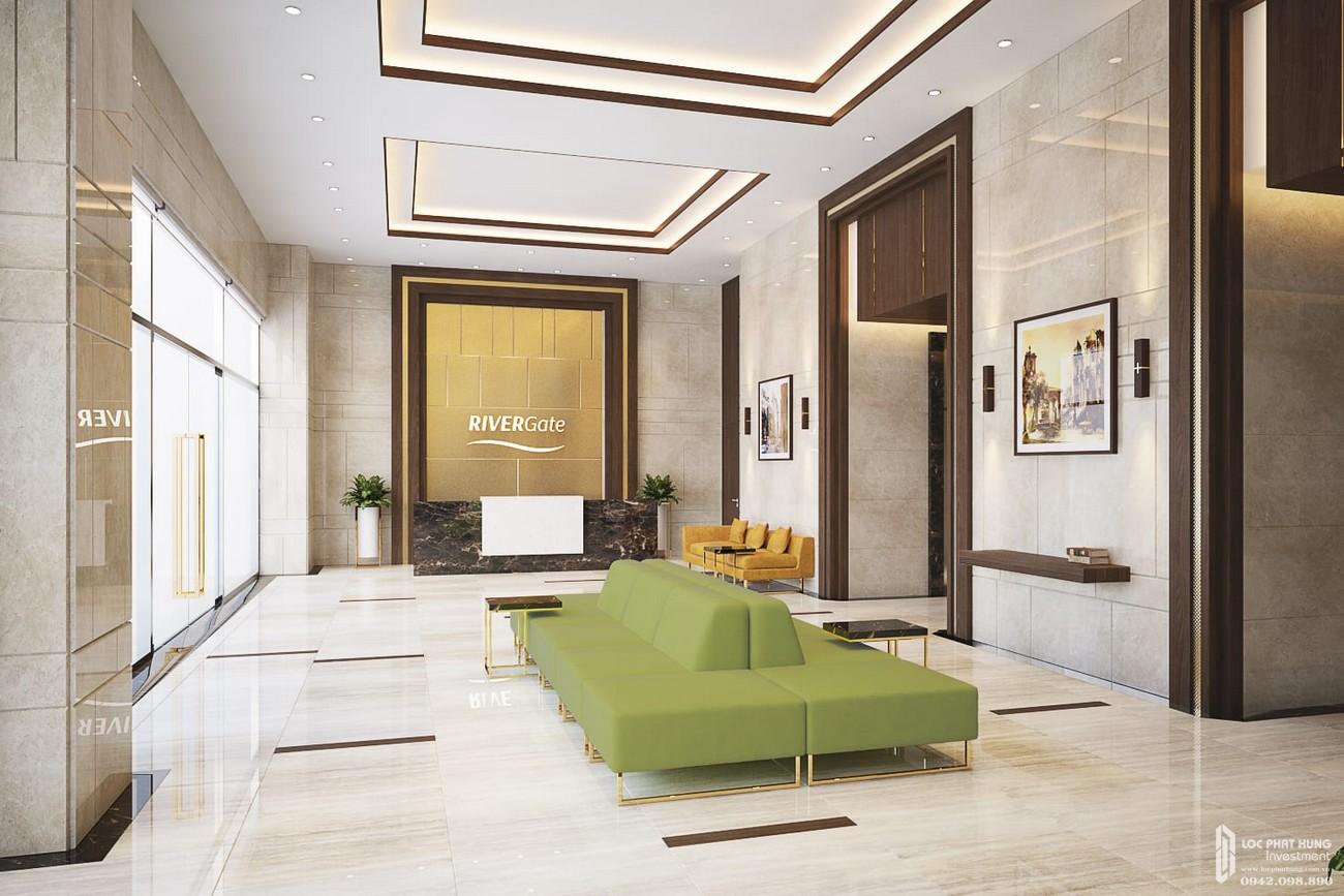 Nhà mẫu dự án căn hộ chung cư Rivergate Residence Quận 4 Đường Bến Vân Đồn chủ đầu tư Novaland