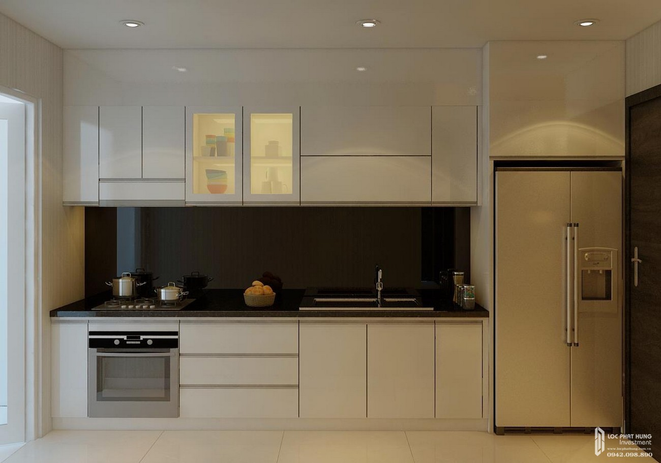 Nhà mẫu dự án căn hộ chung cư Orchard Parkview Phú Nhuận Đường 130 - 132 Hồng Hà chủ đầu tư Novaland