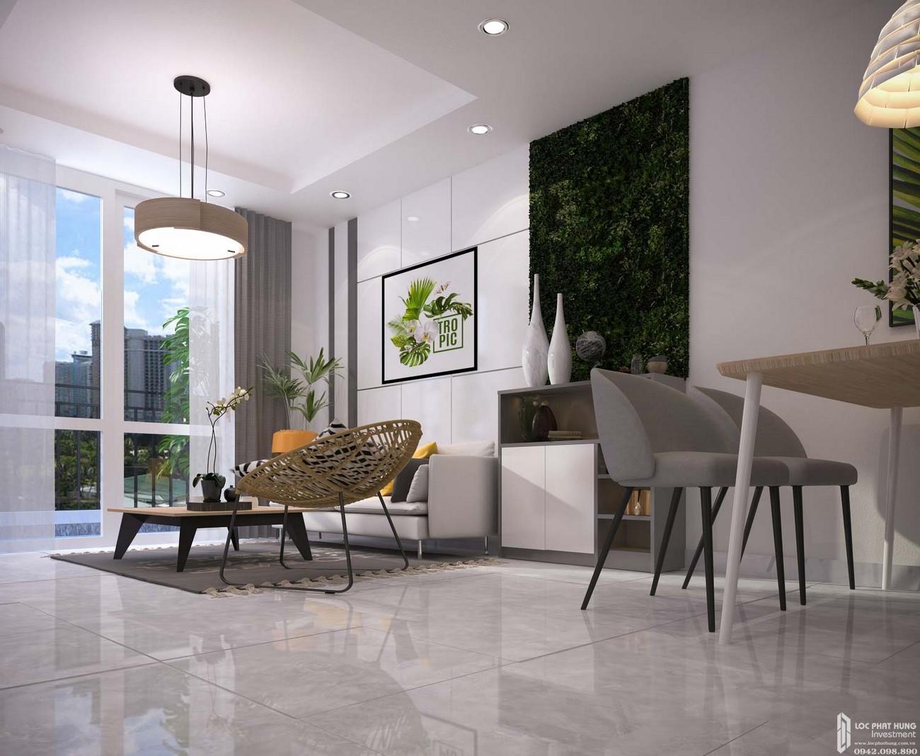 Nhà mẫu dự án căn hộ chung cư Orchid Park Nhà Bè Đường Nguyễn Lương Bằng chủ đầu tư Cotec