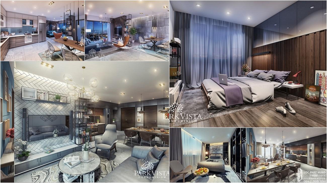 Nhà mẫu dự án căn hộ chung cư Park Vista Nhà Bè Đường Nguyễn Hữu Thọ chủ đầu tư Đông Mê Kông
