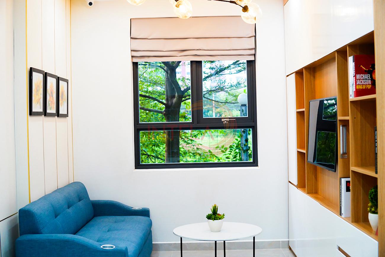 Nhà mẫu dự án căn hộ chung cư Sài Gòn Intela Bình Chánh Đường 13E Nguyễn Văn Linh chủ đầu tư LDG Group
