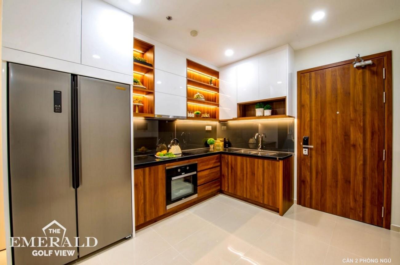 Nhà mẫu dự án căn hộ chung cư The Emerald Golf View Bình Dương