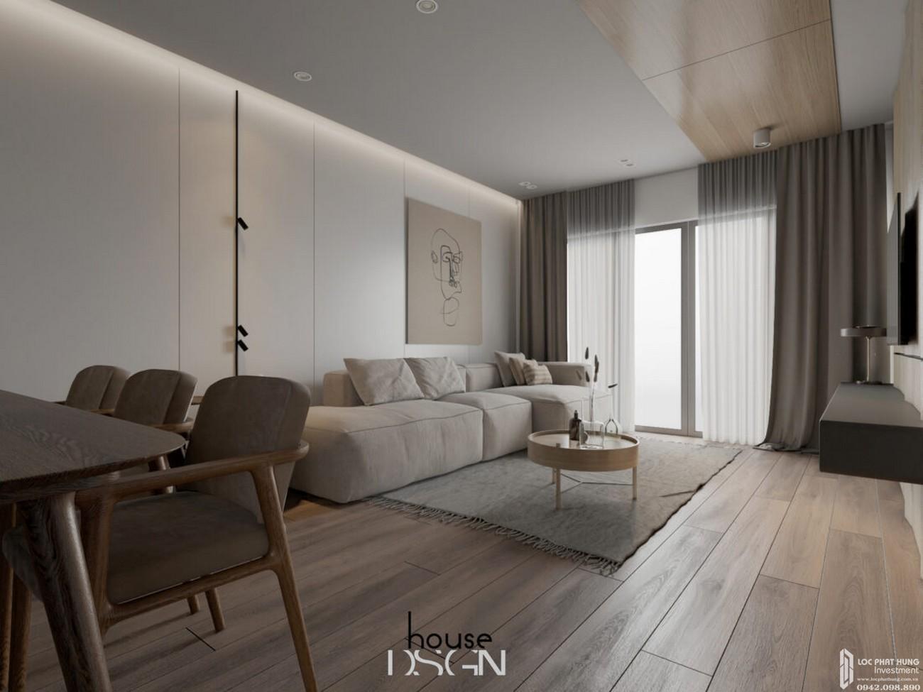 Nhà mẫu dự án nhà phố, căn hộ Dragon Empire DĨ An chủ đầu tư Vương Bảo Long
