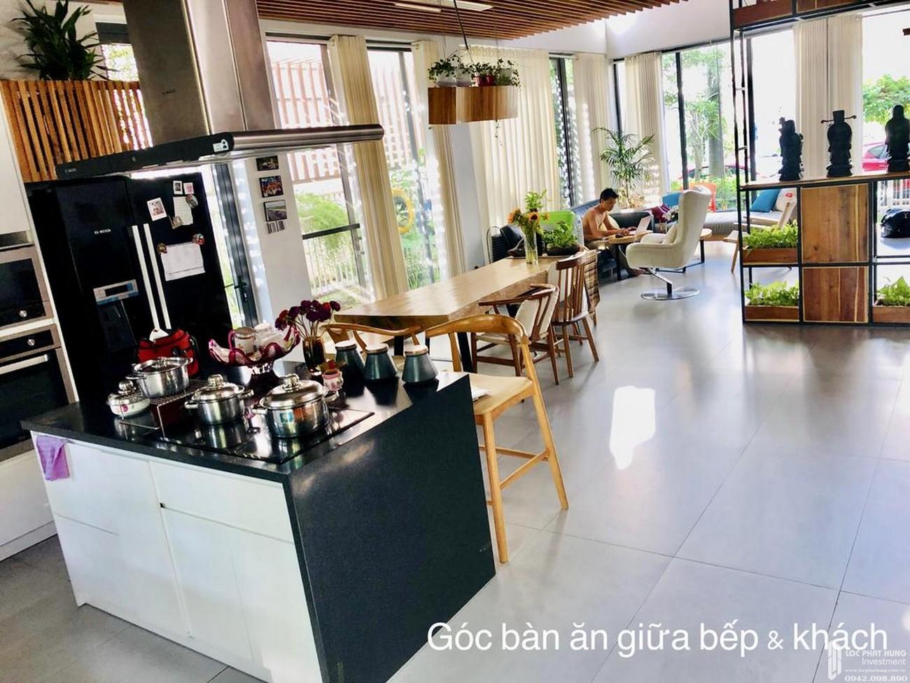 Nhà mẫu dự án nhà phố Dragon Parc Nhà Bè đường Nguyễn Hữu Thọ chủ đầu tư Phú Long