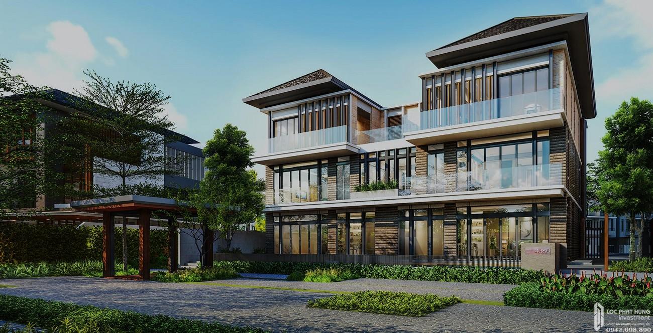 Nhà mẫu dự án nhà phố Lavila De Rio Nhà Bè Đường Nguyễn Hữu Thọ chủ đầu tư Kiến Á